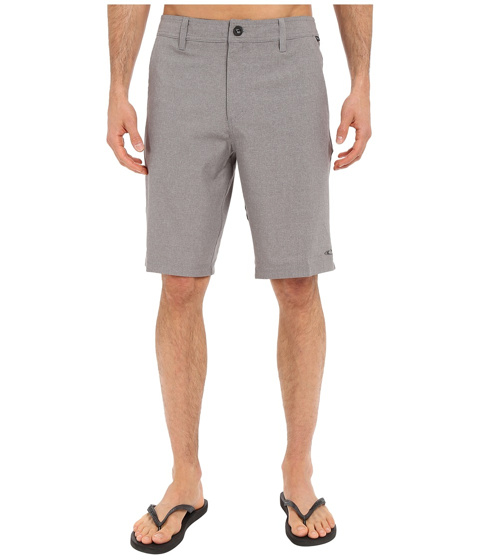 O'Neill - Loaded Hybrid Boardshorts (Grey) Men's Swimwear
