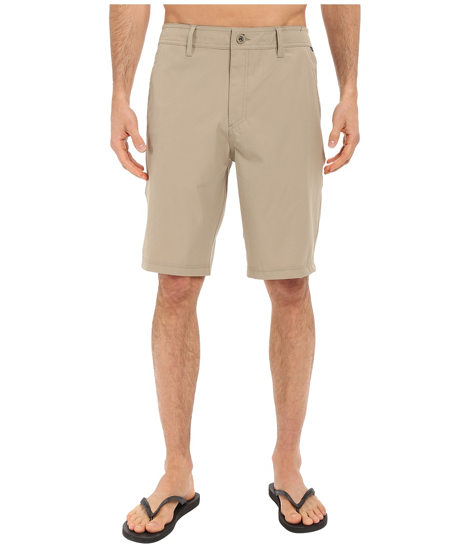 O'Neill - Loaded Hybrid Boardshorts (Khaki) Men's Swimwear