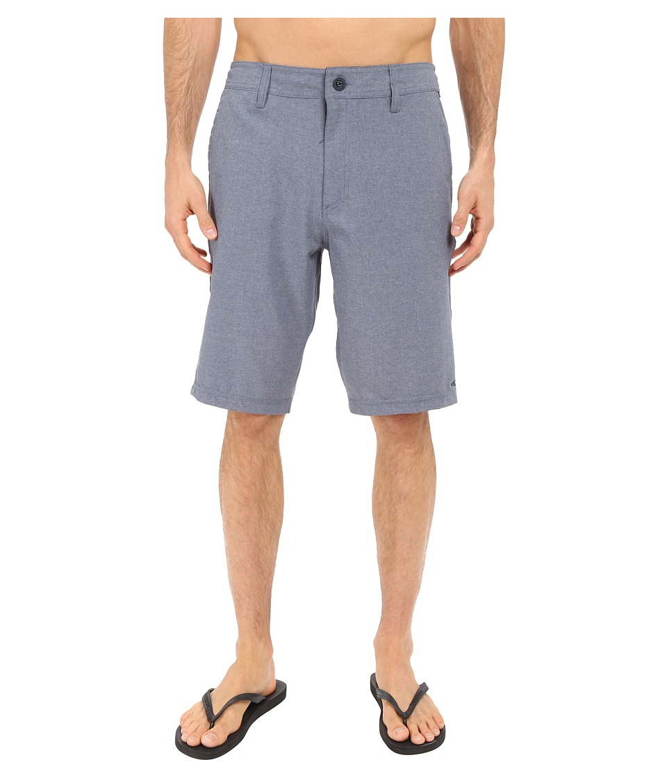 O'Neill - Loaded Hybrid Boardshorts (Blue Heather) Men's Swimwear