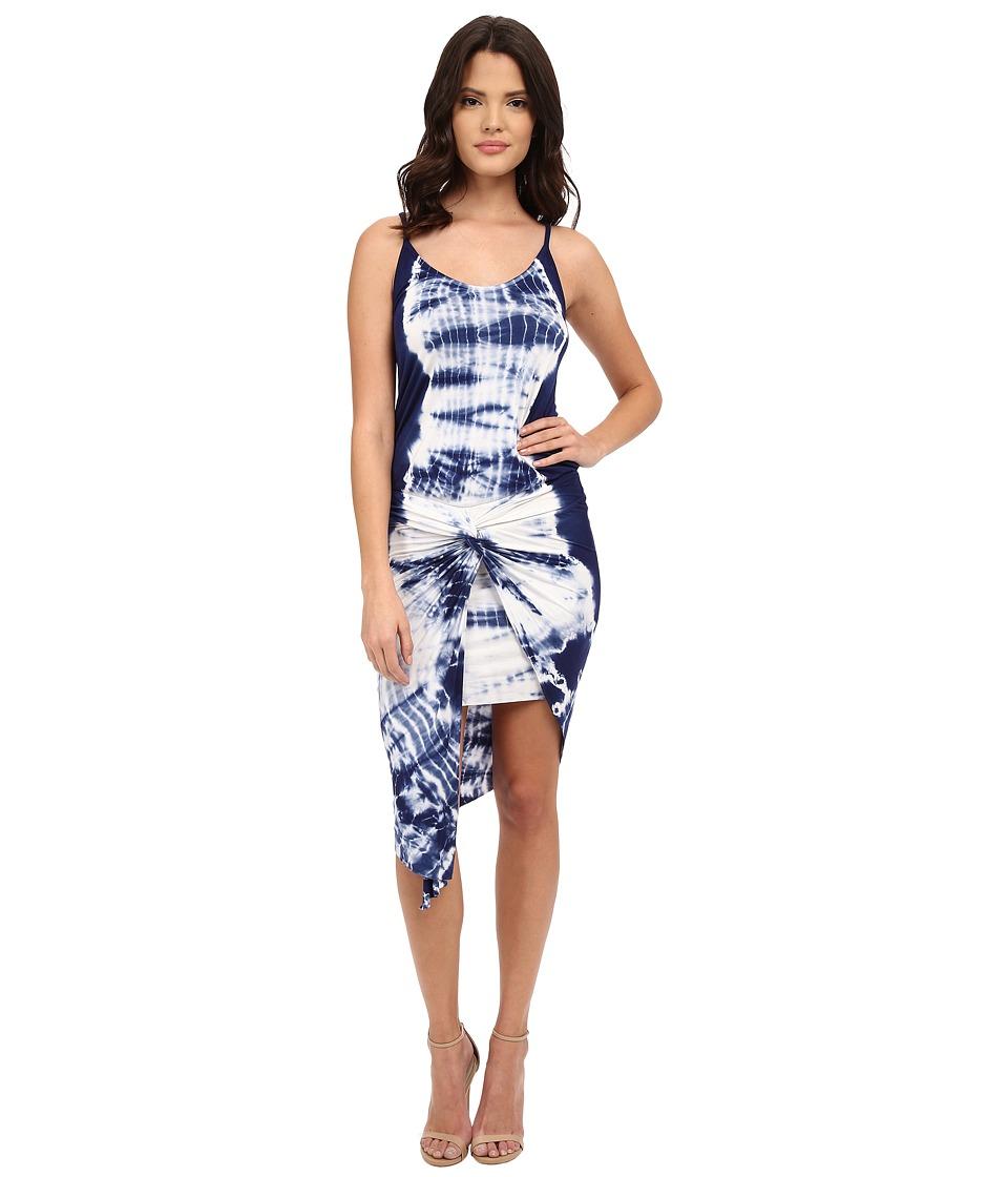 Young Fabulous & Broke - Kulani Dress (Navy Alligator Wash) Women's Dress