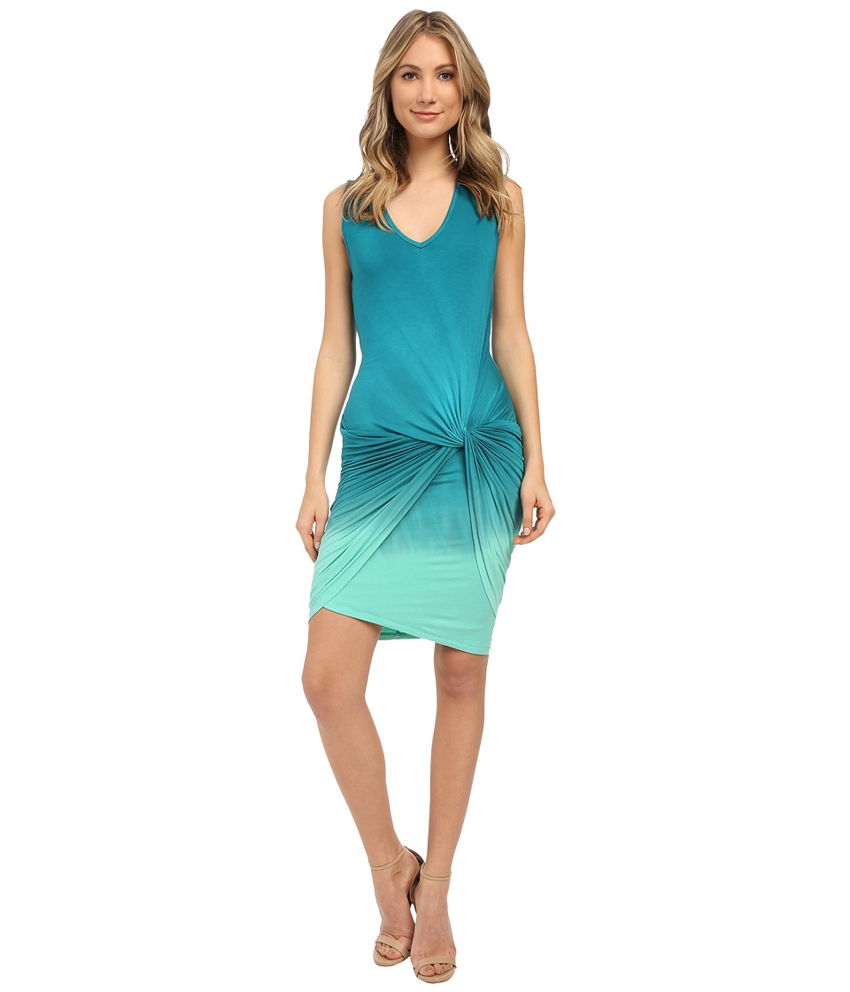 Young Fabulous & Broke - Fleur Mini (Caribe Ombre) Women's Dress