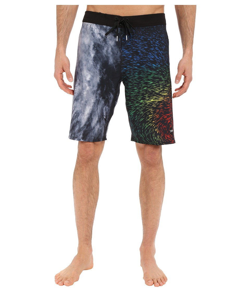 O'Neill - Hyperfreak Marie Boardshorts (White) Men's Swimwear