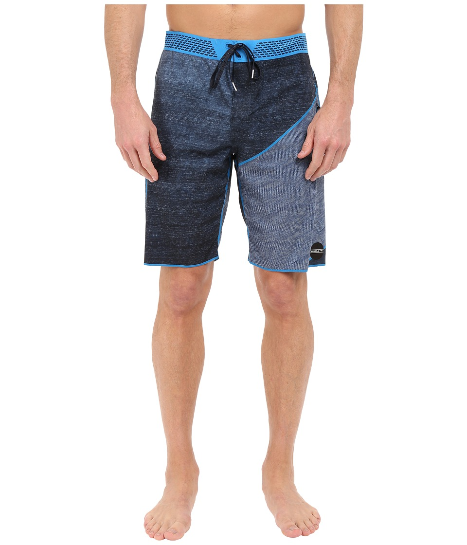 O'Neill - Hyperfreak Hydro Boardshorts (Navy) Men's Swimwear