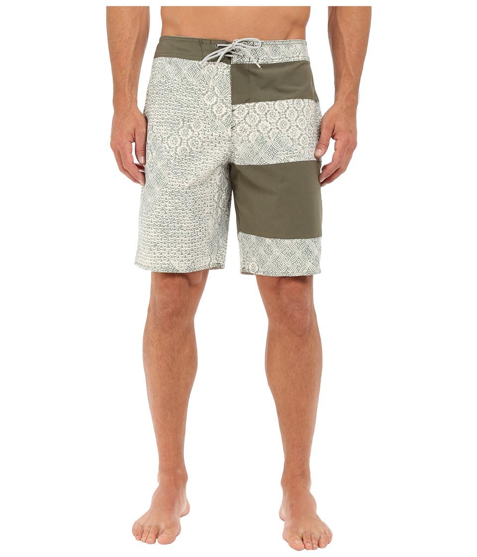 O'Neill - Retrofreak Double Up Boardshorts (Army Green) Men's Swimwear