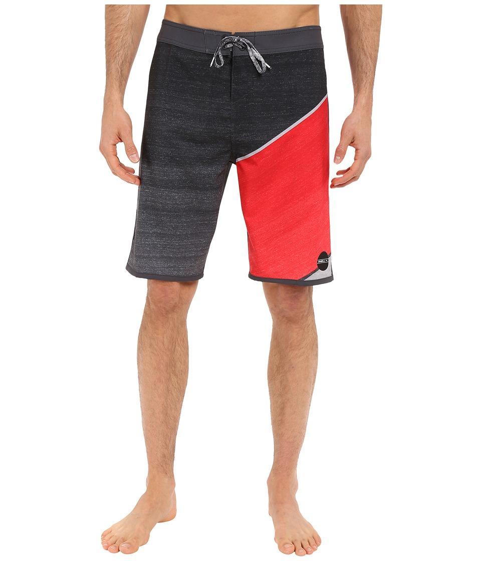 O'Neill - Hyperfreak Boardshorts (Cement) Men's Swimwear