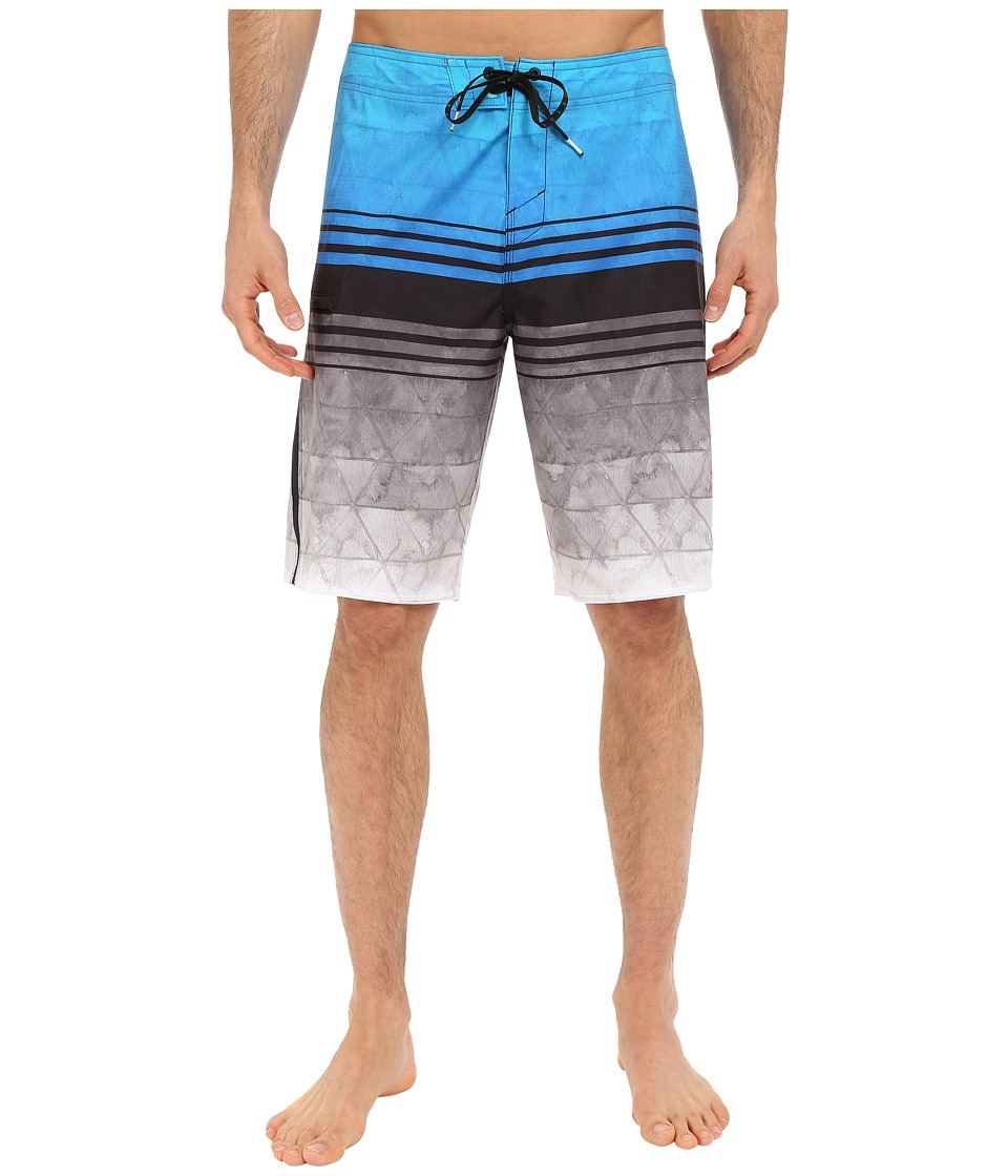 O'Neill - Superfreak Diffusion Boardshorts (Bright Blue) Men's Swimwear
