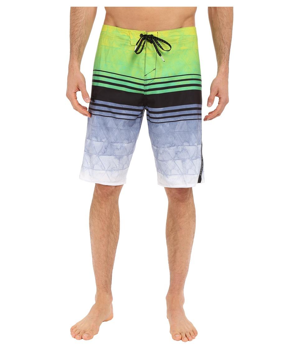 O'Neill - Superfreak Diffusion Boardshorts (Green) Men's Swimwear