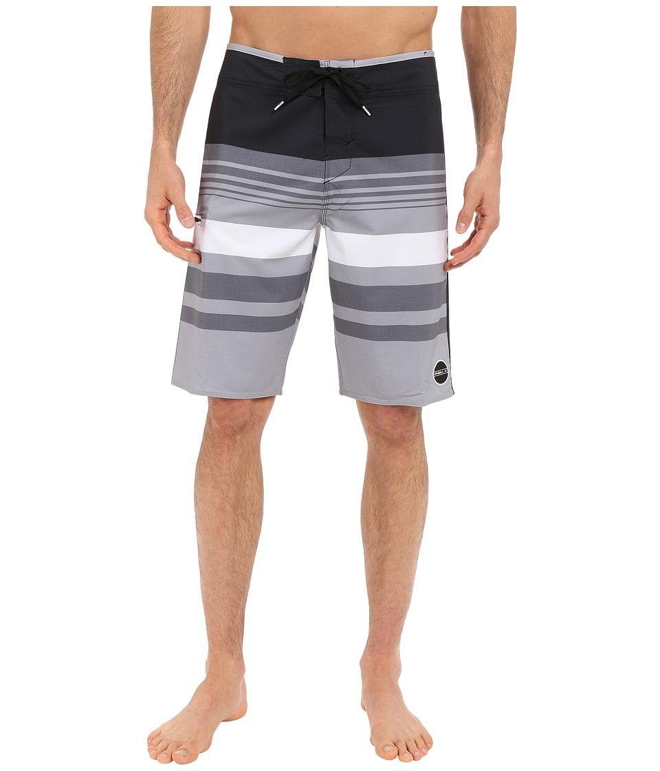 O'Neill - Hyperfreak Heist Boardshorts (Black) Men's Swimwear