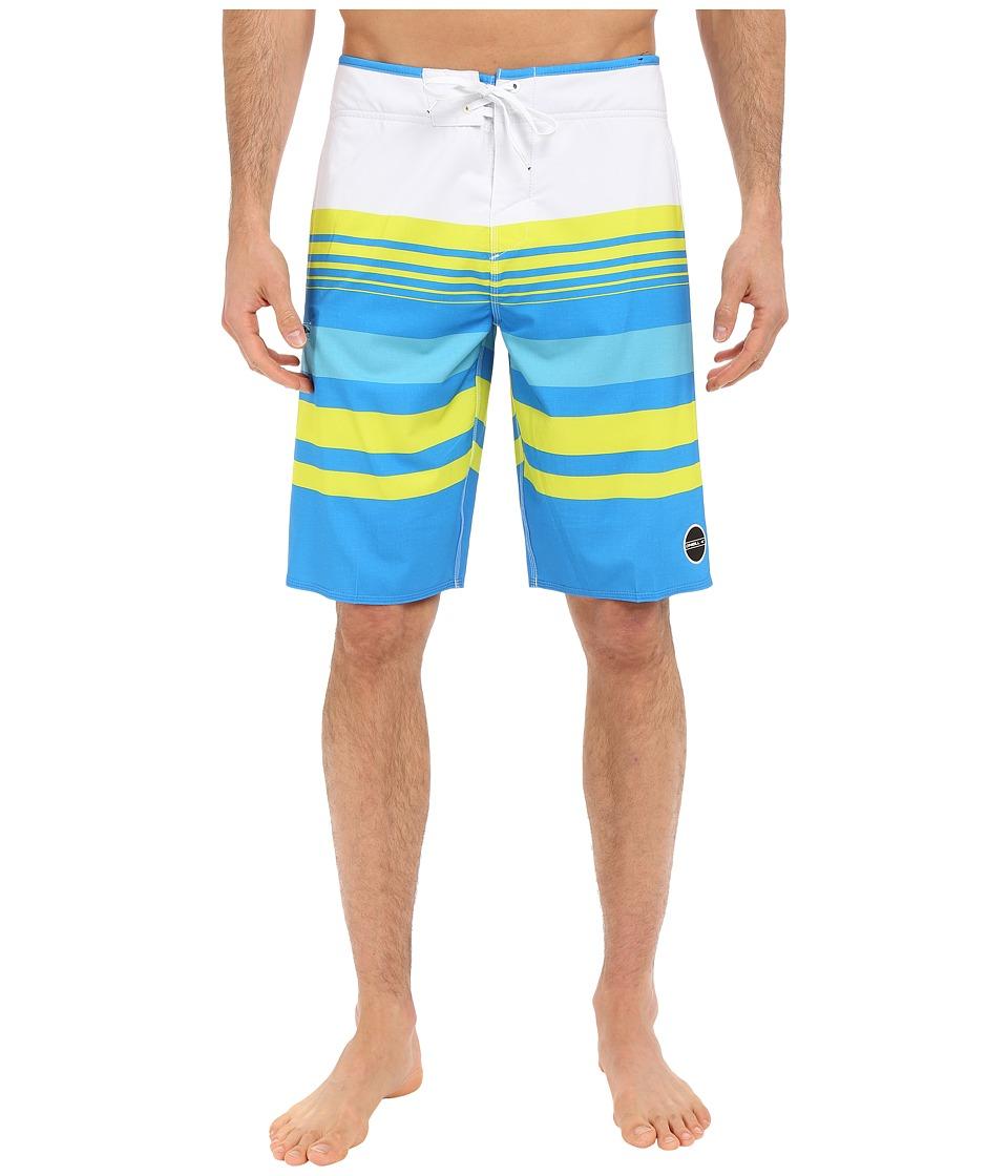 O'Neill - Hyperfreak Heist Boardshorts (Bright Blue) Men's Swimwear