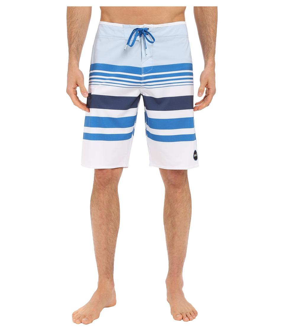 O'Neill - Hyperfreak Heist Boardshorts (White) Men's Swimwear
