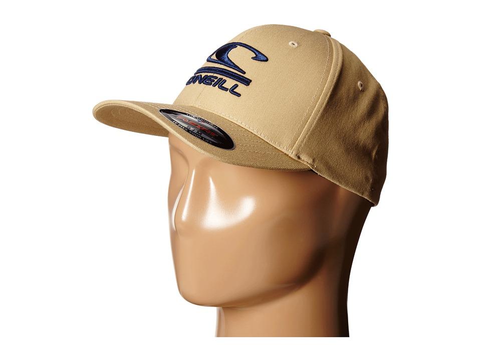 O'Neill - Limpio Y Malo Hat (Dark Khaki) Baseball Caps