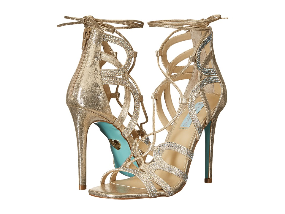 Blue by Betsey Johnson - Celia (Gold) High Heels