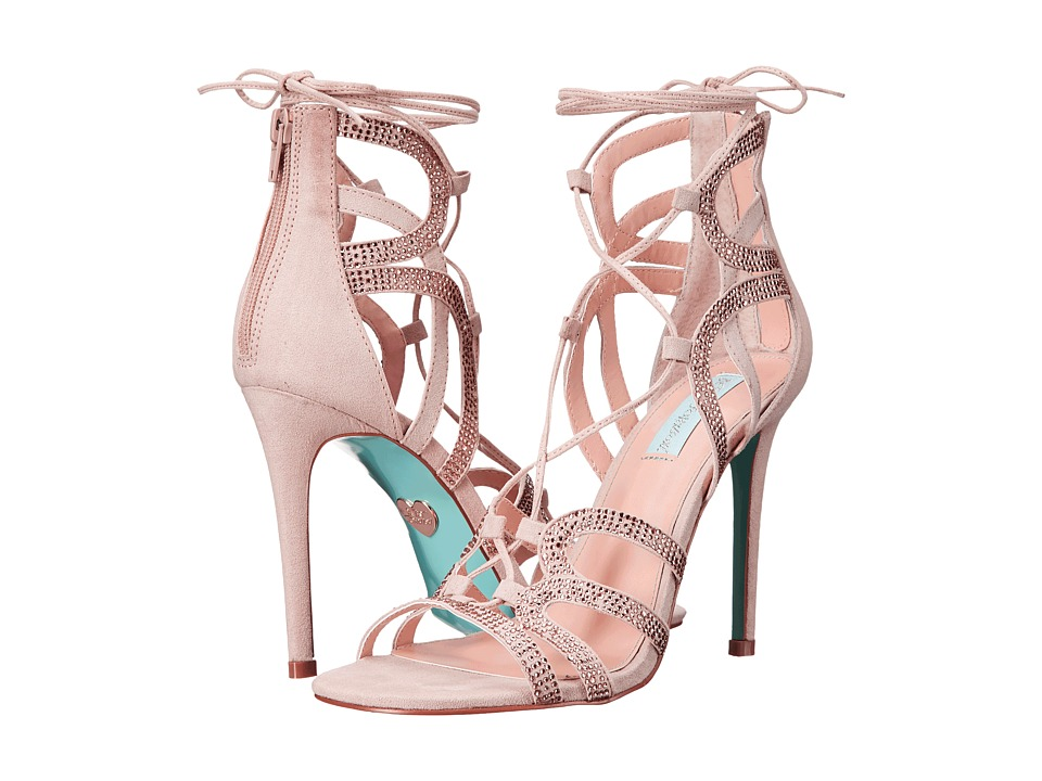 Blue by Betsey Johnson Celia (Blush Suede) High Heels