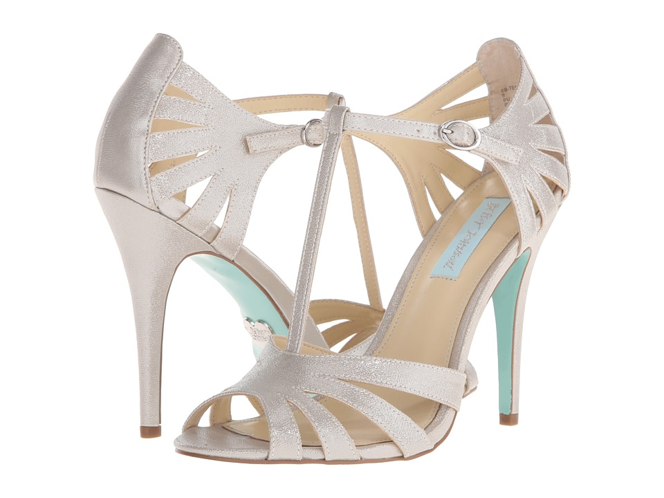 Blue by Betsey Johnson - Tee (Silver Shimmer) High Heels