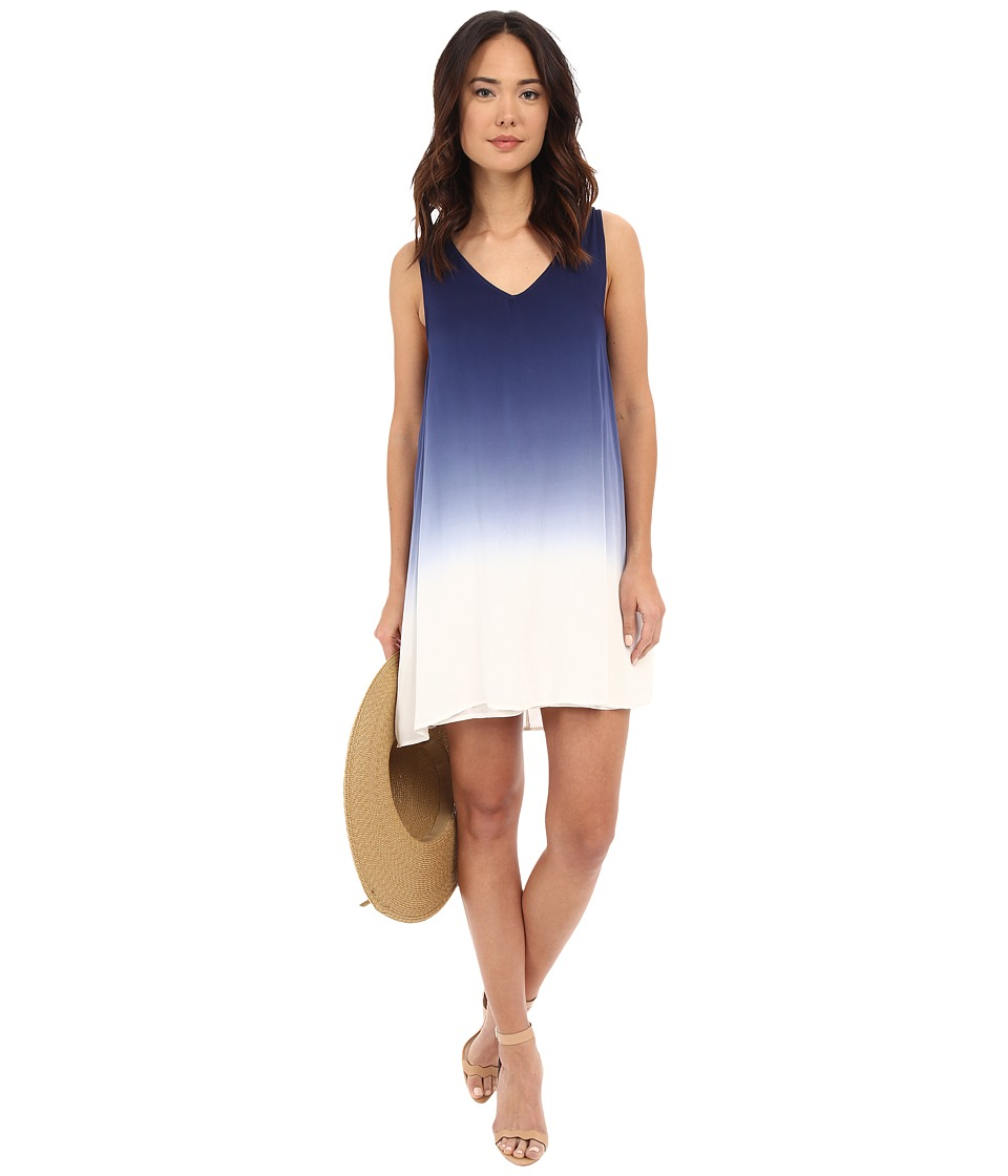 BB Dakota - Gisela Dip Dye Rayon Dress (Blue) Women's Dress