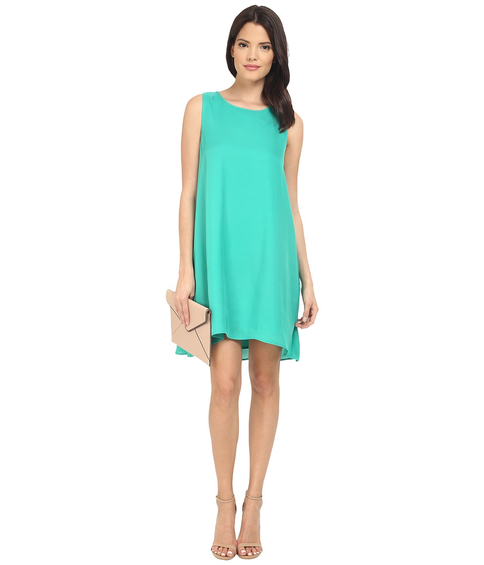 BB Dakota Roxanne Reverse Crepon Flowy Dress (Green) Women
