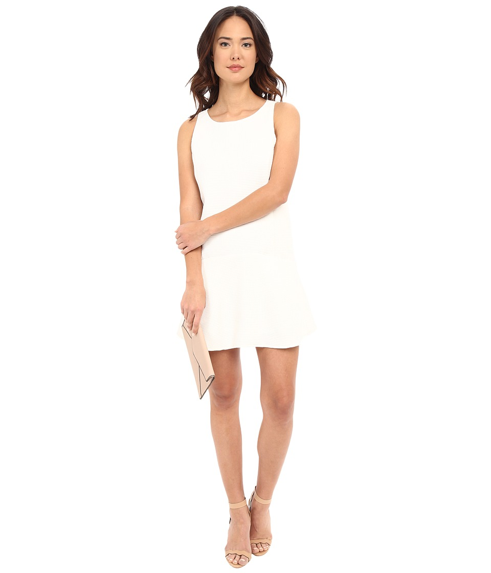 BB Dakota Raven Tank Dress with Patch Pockets (Dirty White) Women