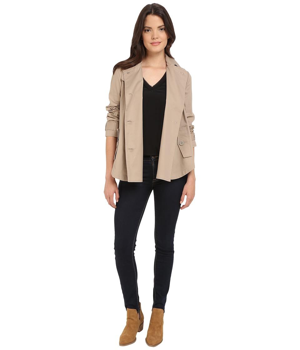 BB Dakota - Ranae Trench Poncho Jacket (Tan) Women's Coat