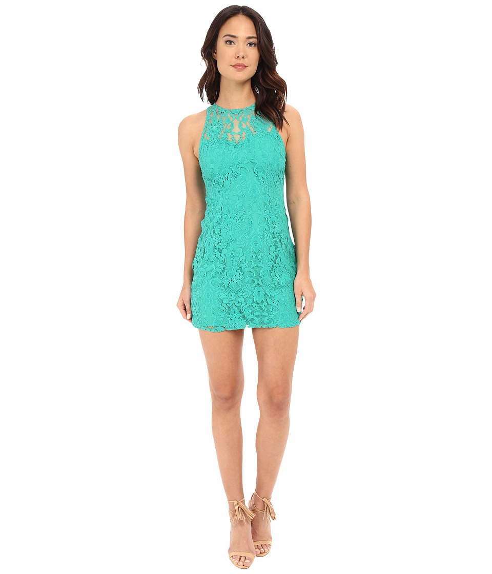 BB Dakota - Larelle Sleeveless Lace Dress (Green) Women's Dress