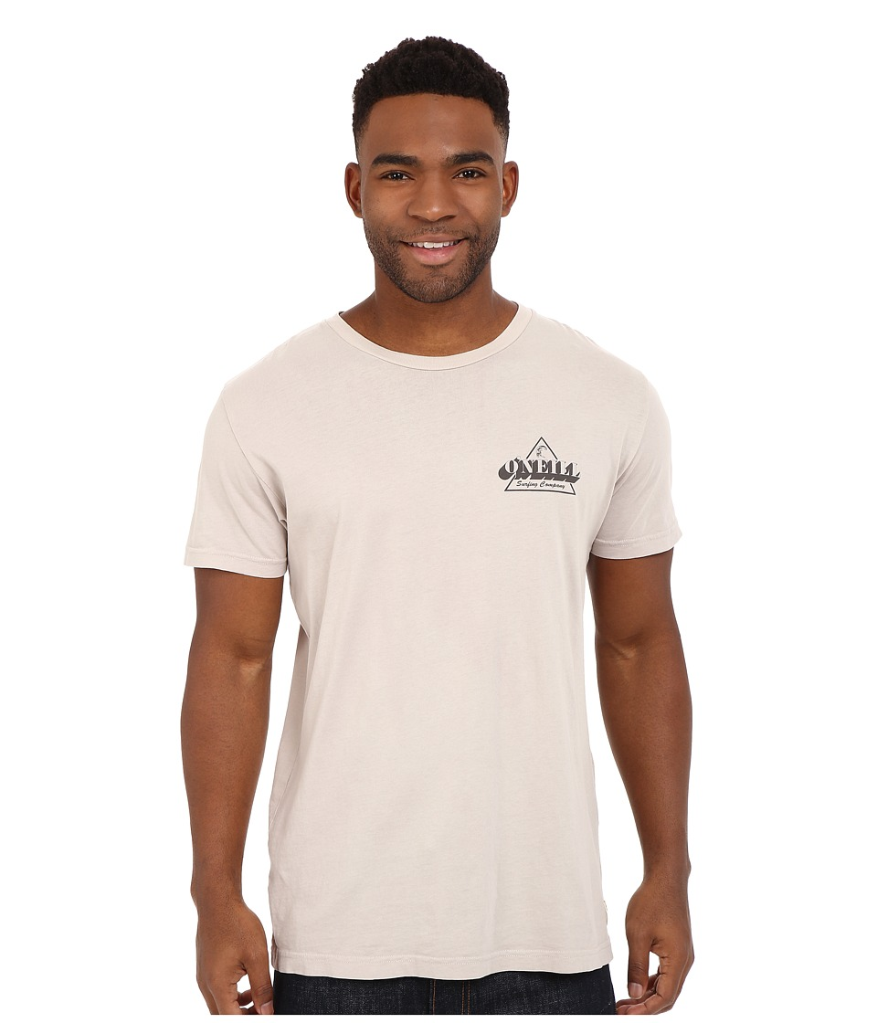 O'Neill - Mongoose Short Sleeve Screen Tee (Smoke) Men's Short Sleeve Pullover