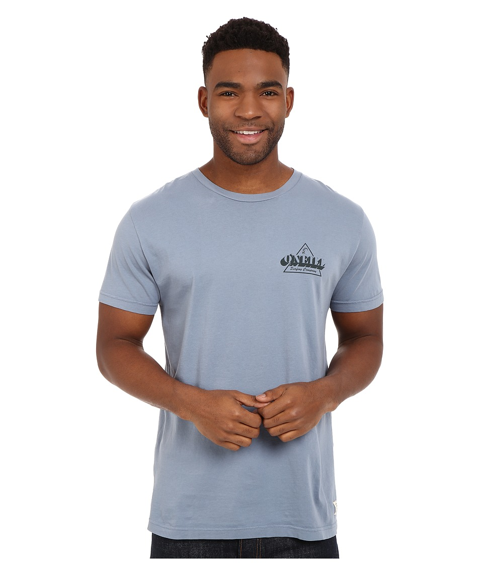 O'Neill - Mongoose Short Sleeve Screen Tee (Steel) Men's Short Sleeve Pullover