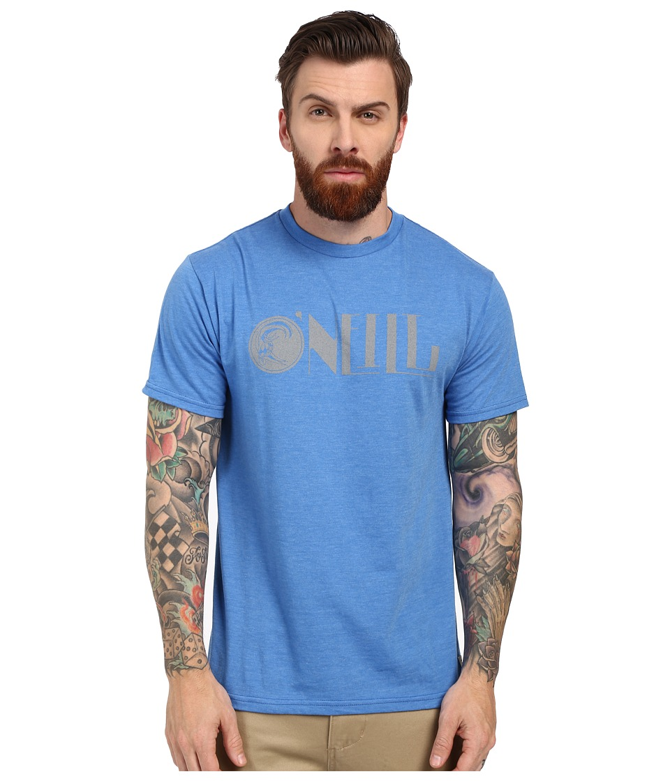 O'Neill - Modernity Short Sleeve Screen Tee (Blue) Men's T Shirt