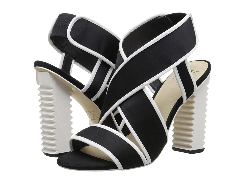 GX By Gwen Stefani - Madison (Black/White Neoprene/Twill) High Heels