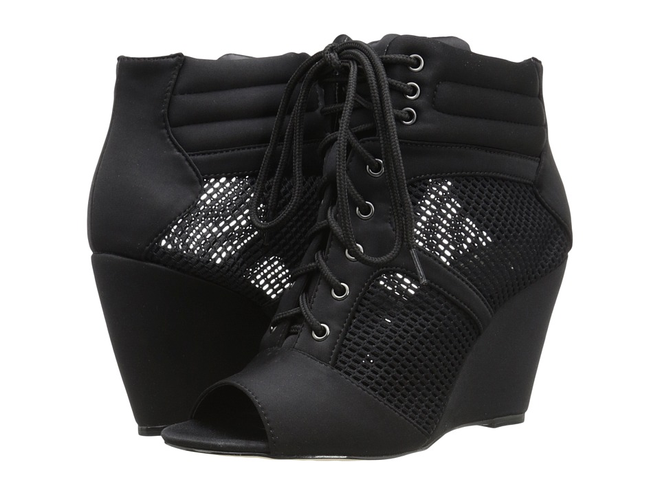 GX By Gwen Stefani - Maribele (Black/Black Mesh/Neoprene) Women