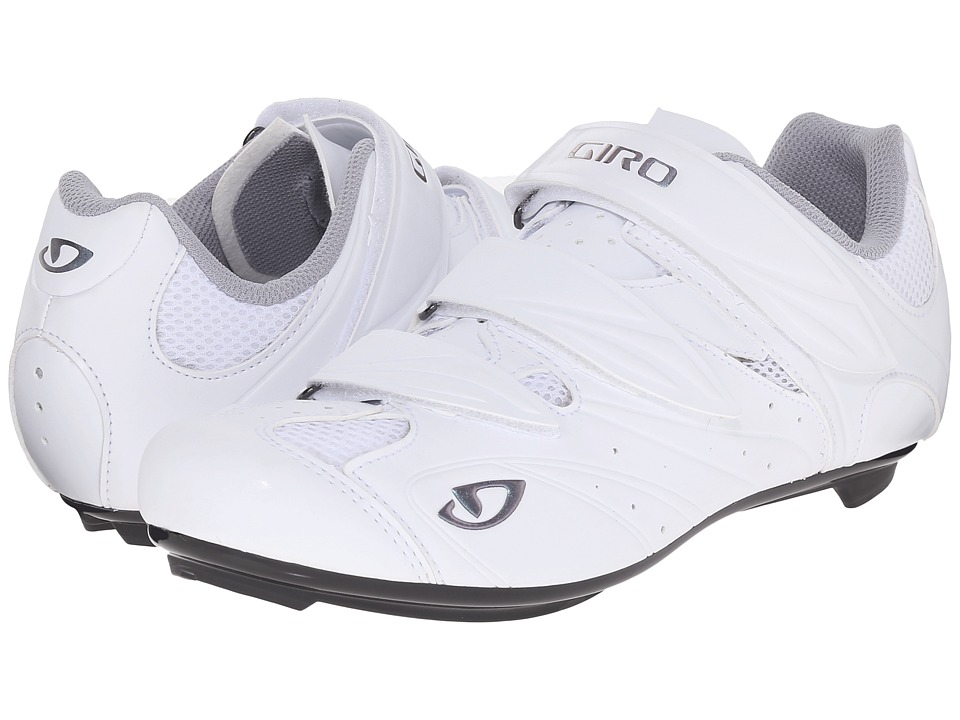 Giro - Sante II (Matte White/Glow White) Women's Cycling Shoes
