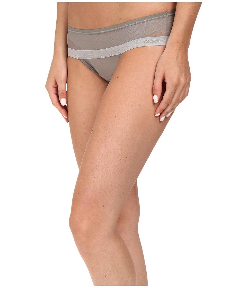 DKNY Intimates - Mesh Hipster DK2001 (Ash Green) Women's Underwear
