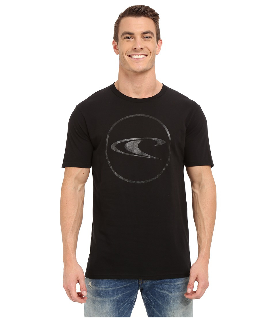 O'Neill - Ringside Short Sleeve Screen Tee (Black) Men's T Shirt