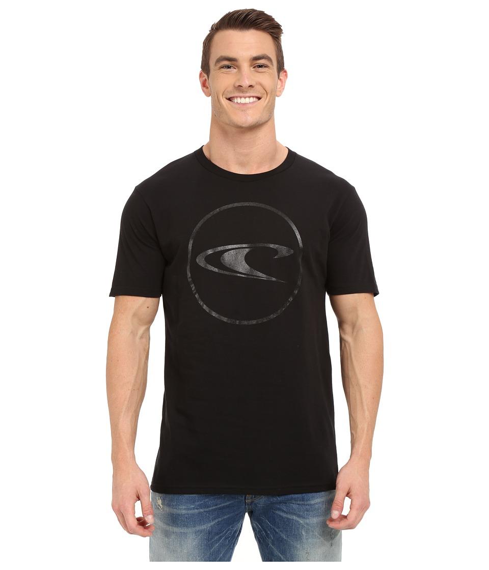 O'Neill - Ringside Short Sleeve Screen Tee (Black) Men's T Shirt