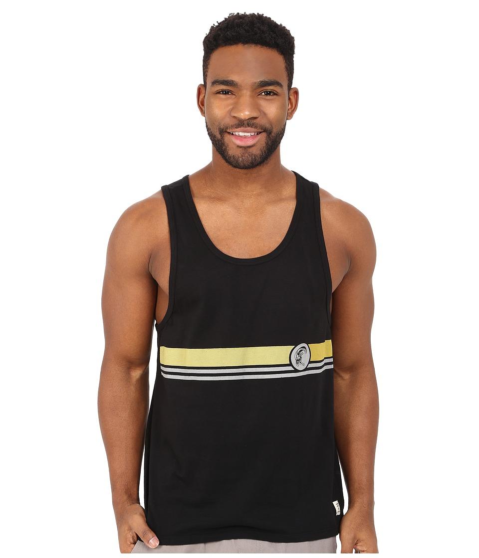 O'Neill - Hermosa Tank Top (Black) Men's Sleeveless