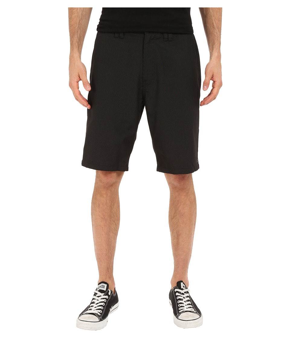 O'Neill - Delta Pinstripe Shorts (Black) Men's Shorts