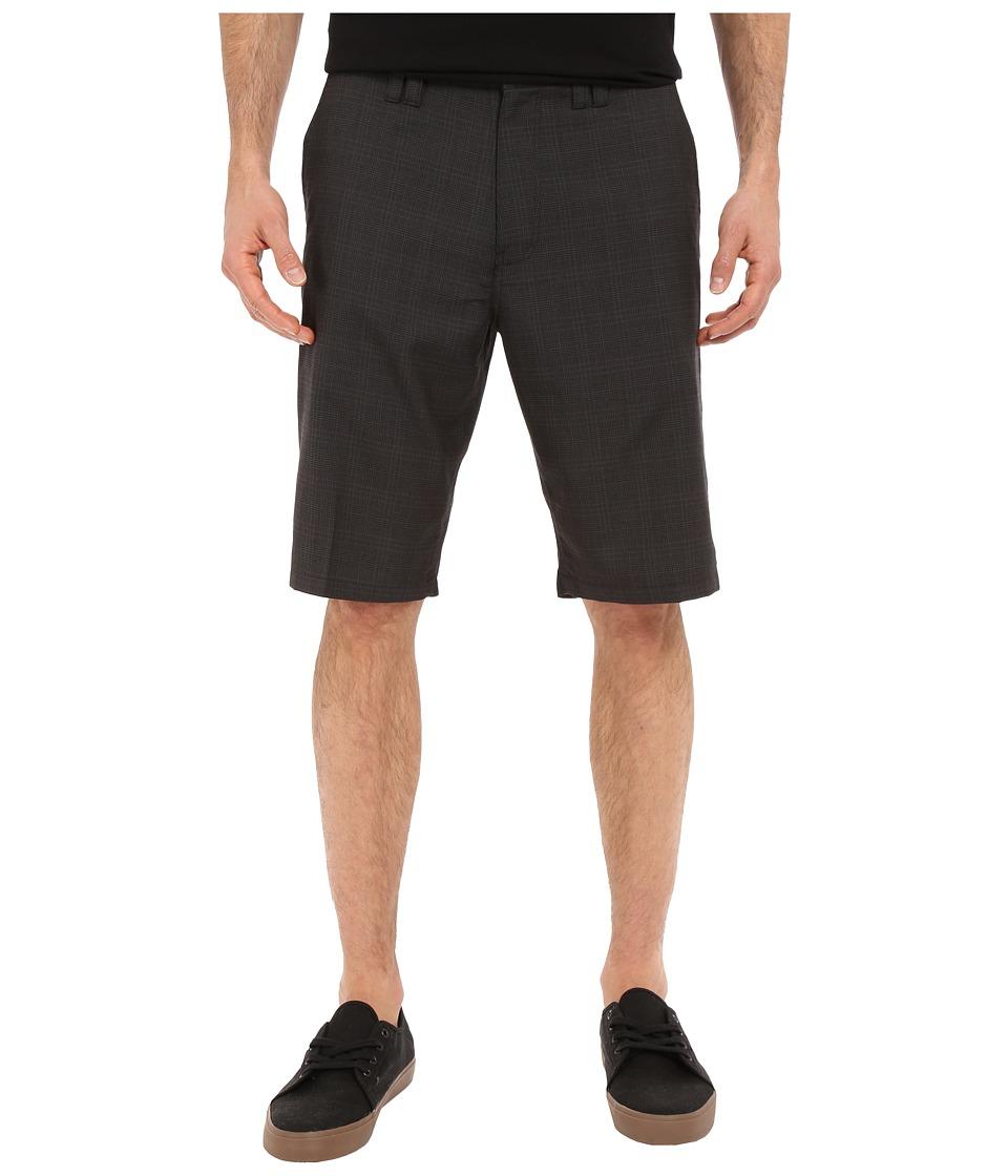 O'Neill - Delta Plaid Shorts (Black) Men's Shorts