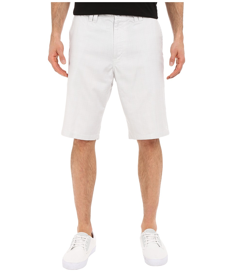 O'Neill - Delta Plaid Shorts (White) Men's Shorts