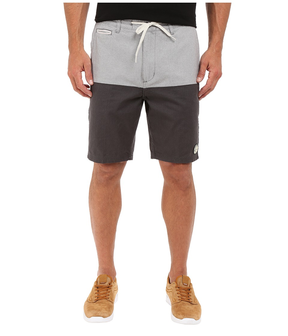 O'Neill - Originals Split Time Shorts (Black) Men's Shorts