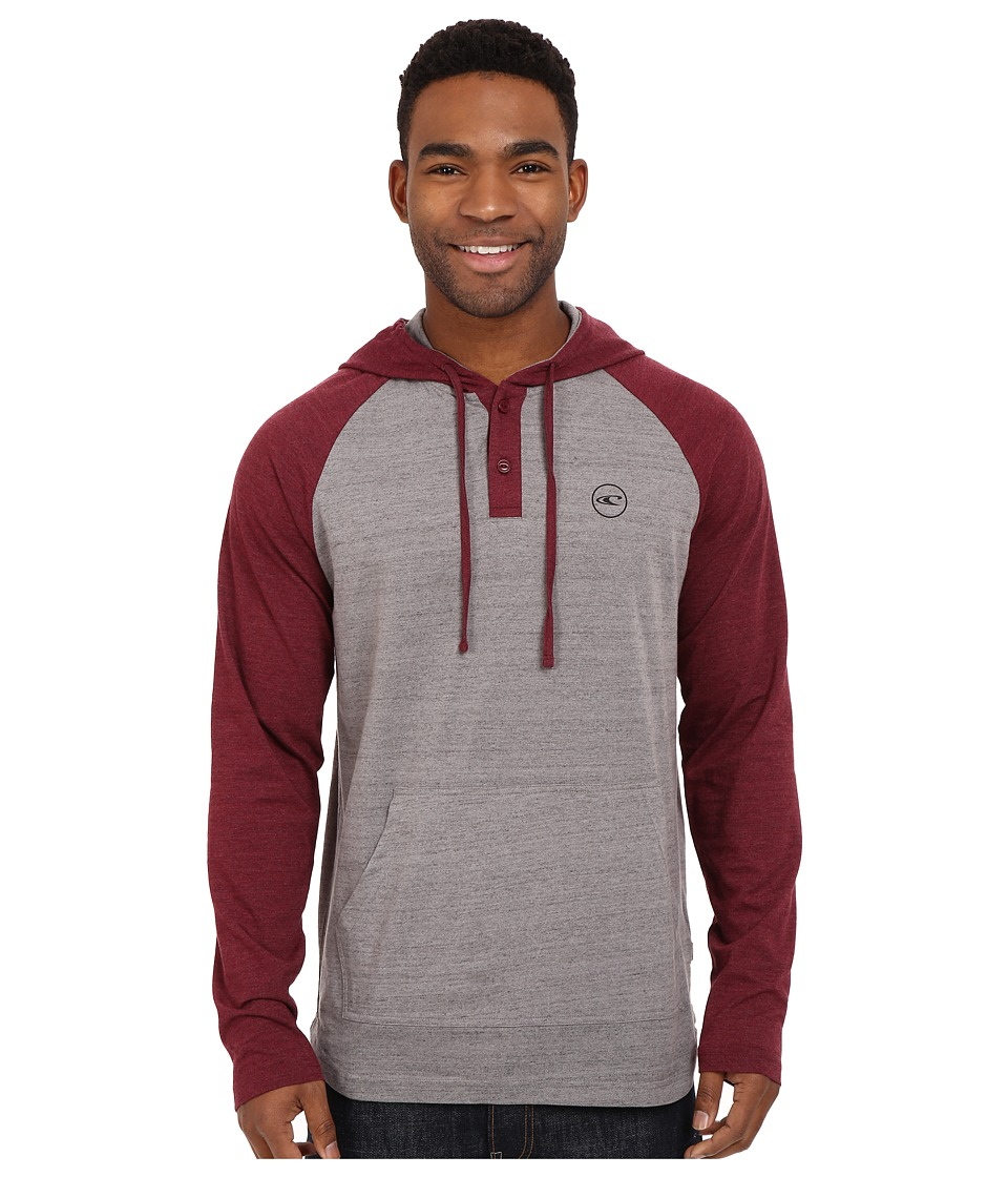 O'Neill - The Bay Pullover (Burgundy) Men's Clothing