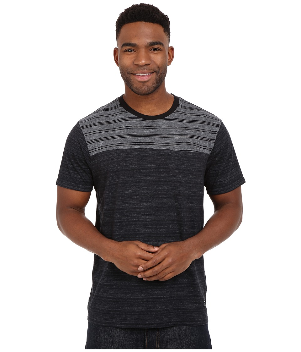 O'Neill - Ragdoll Crew (Charcoal) Men's Short Sleeve Pullover