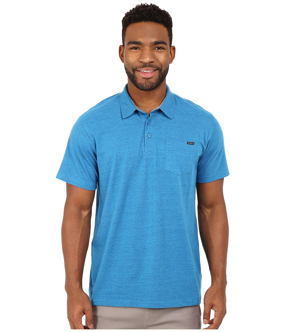 O'Neill - The Bay Polo (Bright Blue) Men's Short Sleeve Knit