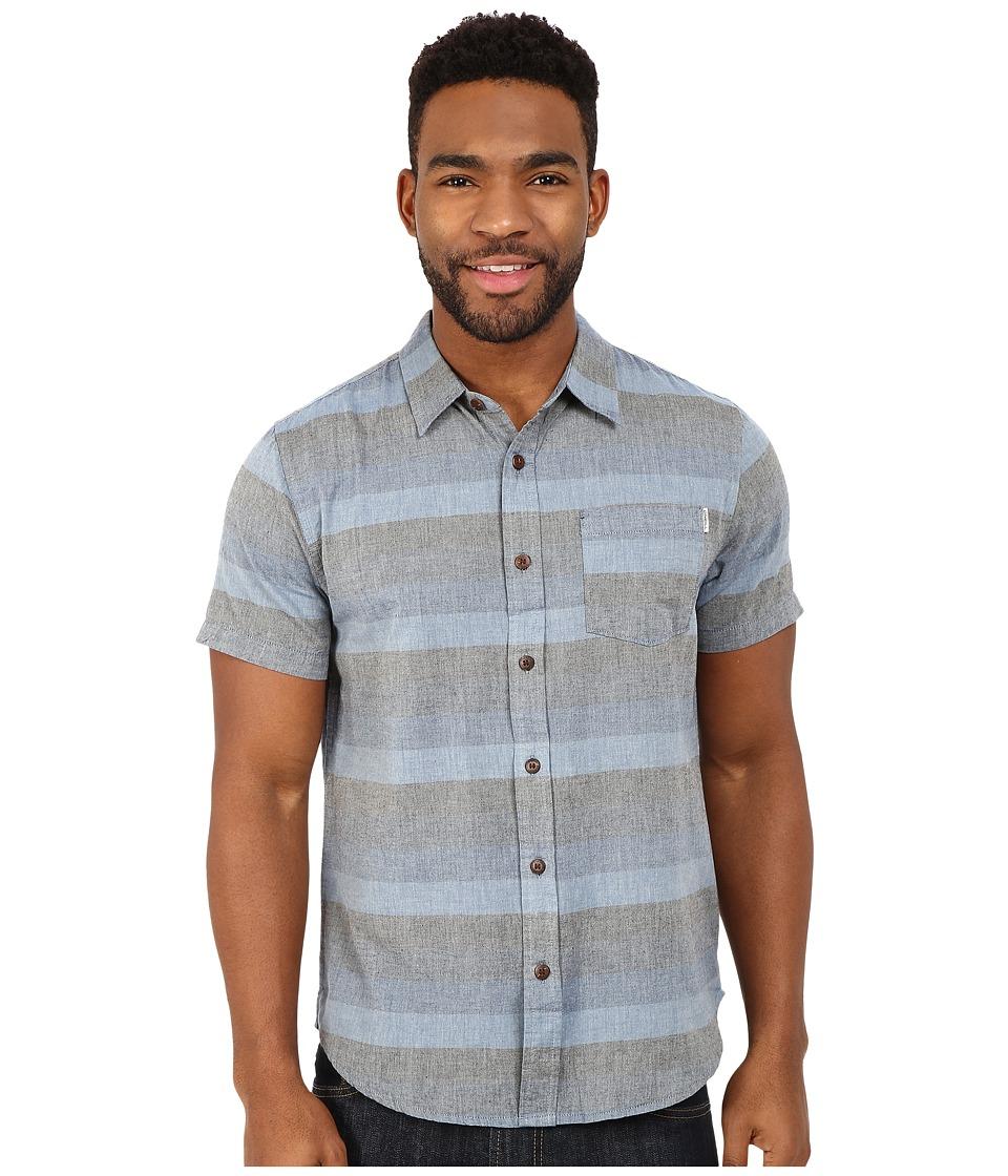 O'Neill - Fifty-two Short Sleeve Wovens (Blue) Men's Short Sleeve Button Up