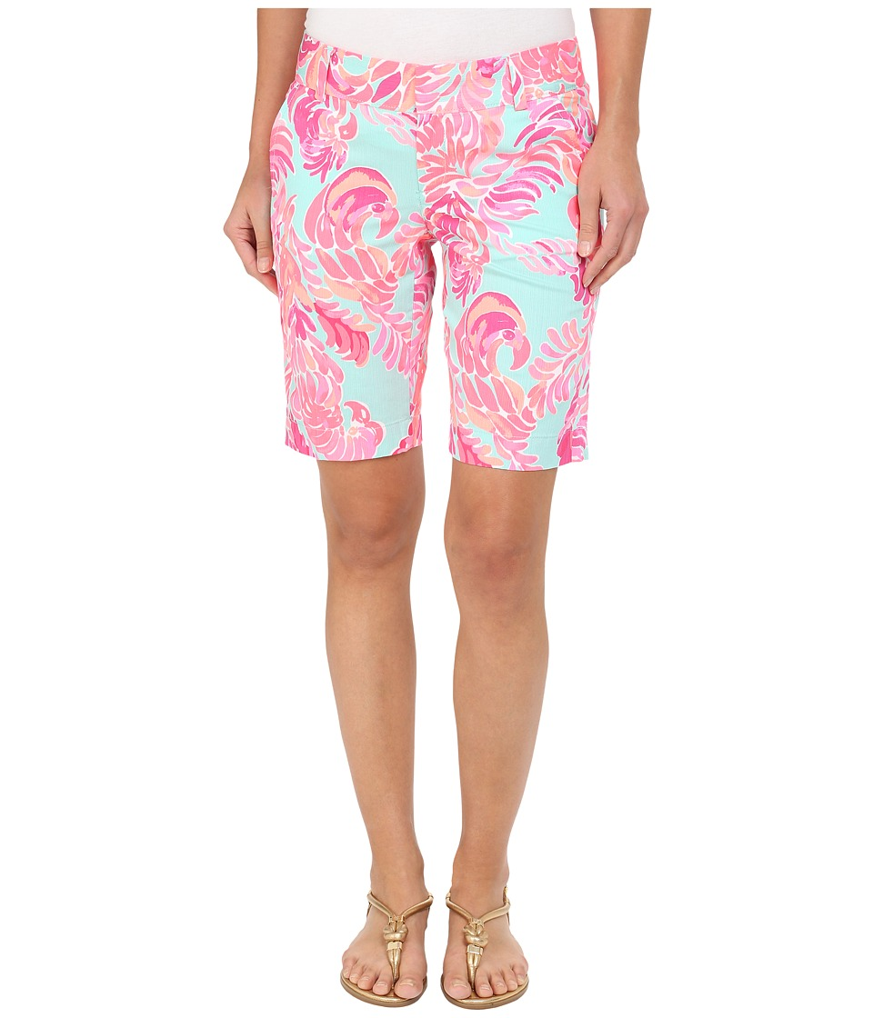 Lilly Pulitzer - Chipper Shorts (Poolside Blue Love Birds) Women's Shorts
