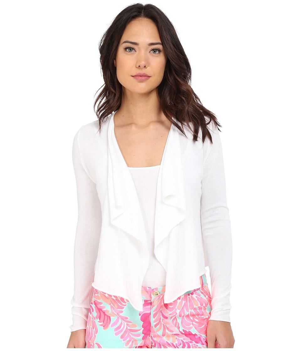 889069035709. Lilly Pulitzer - Colony Cardigan (Resort White) Women s  Sweater f48baa7b0