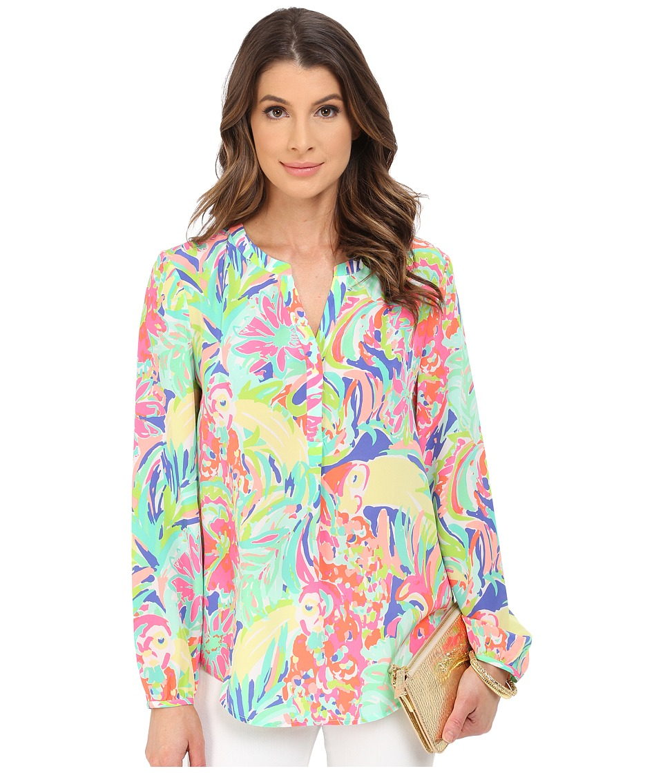 Lilly Pulitzer - Stacey Top (Multi Casa Banana) Women's Clothing
