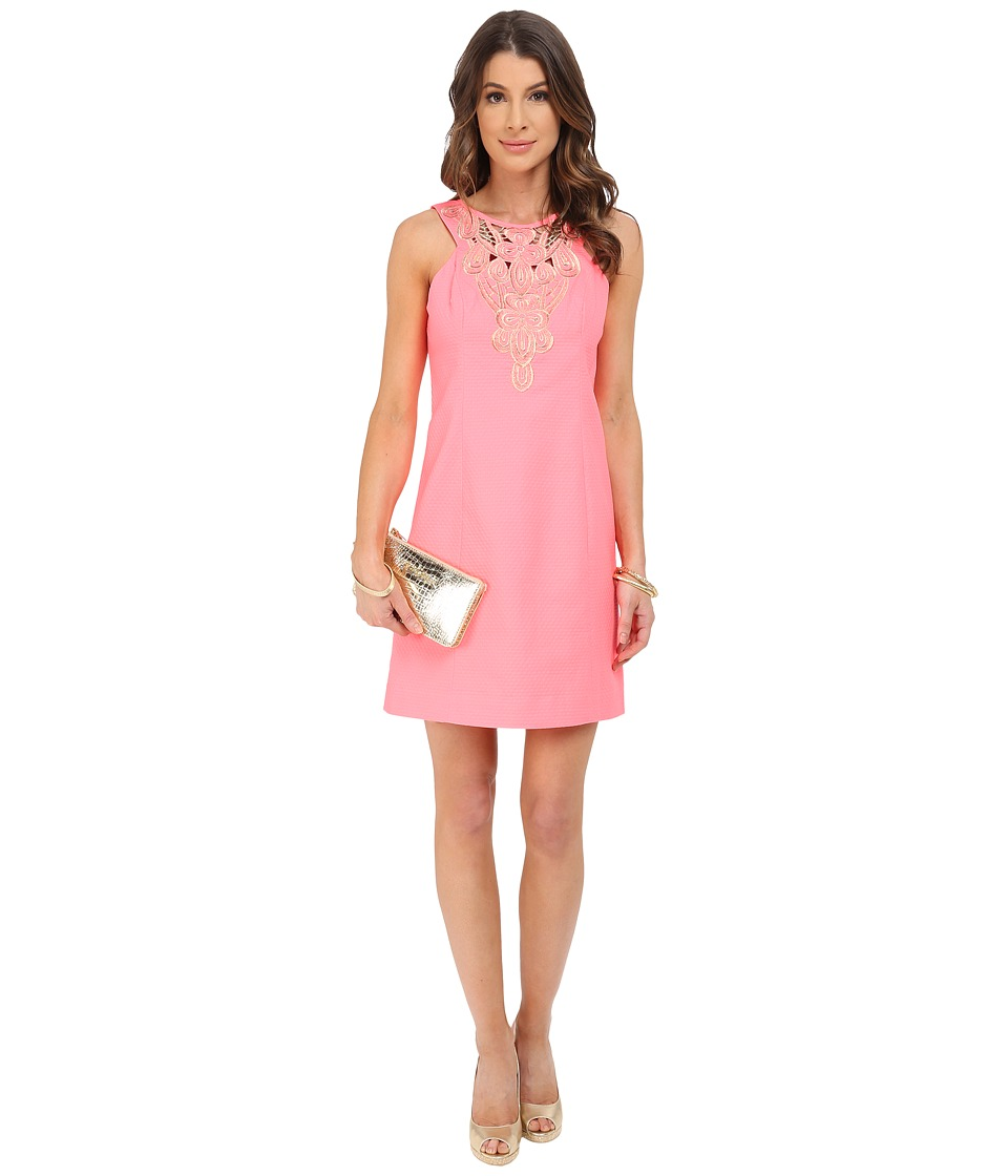 Lilly Pulitzer - Largo Shift Dress (Pink Sun Ray) Women's Dress