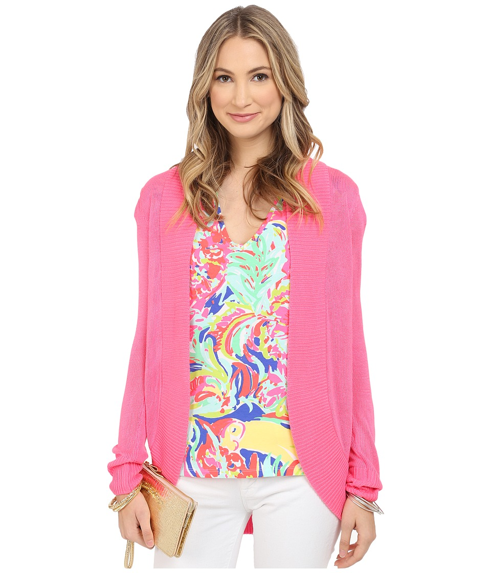 Lilly Pulitzer - Amalie Cardigan (Flamingo Pink) Women's Sweater
