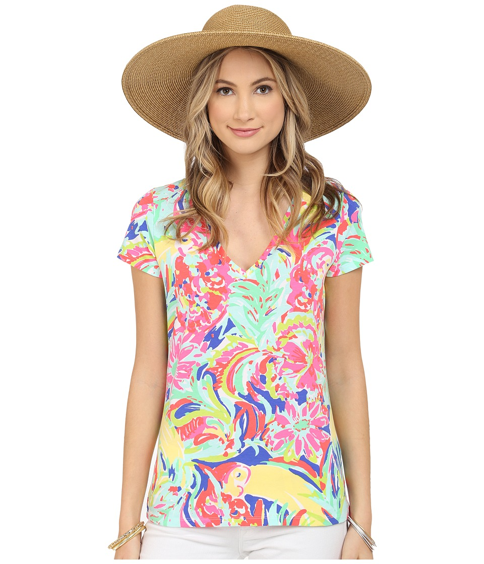 Lilly Pulitzer - Michele Top (Multi Casa Banana) Women's T Shirt