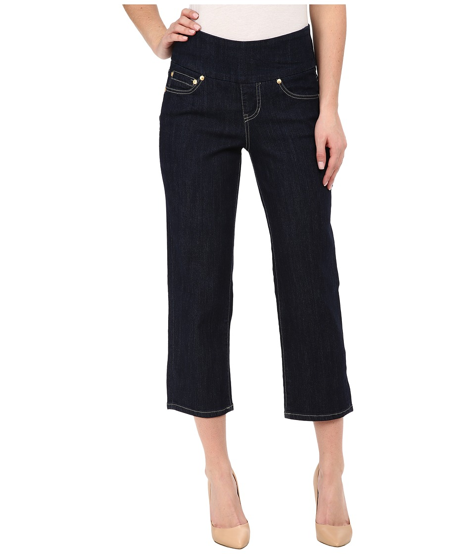Jag Jeans - Echo Crop in Comfort Denim Dark Shadow Wash (Indigo) Women's Capri