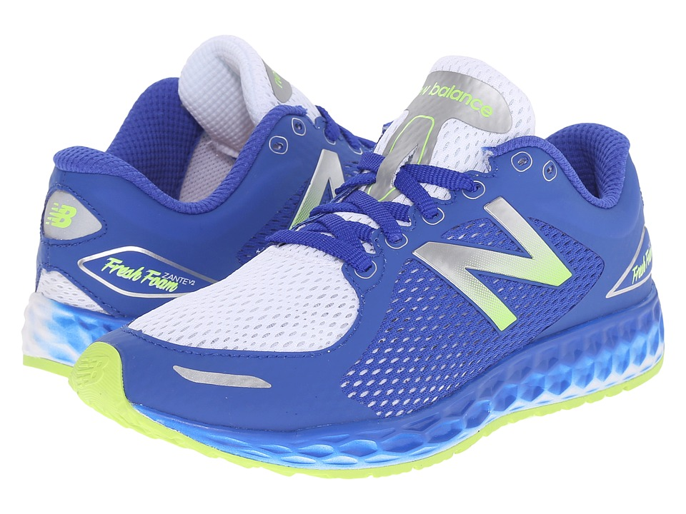 New Balance Kids Fresh Foam Zante v2 Breathe (Little Kid/Big Kid) (Blue/White) Boys Shoes