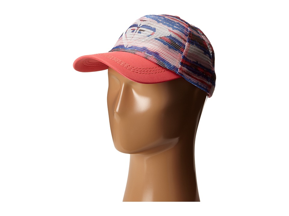 Roxy - Your Baby Trucker Hat (Sea Stripe Combo/Fragola) Caps